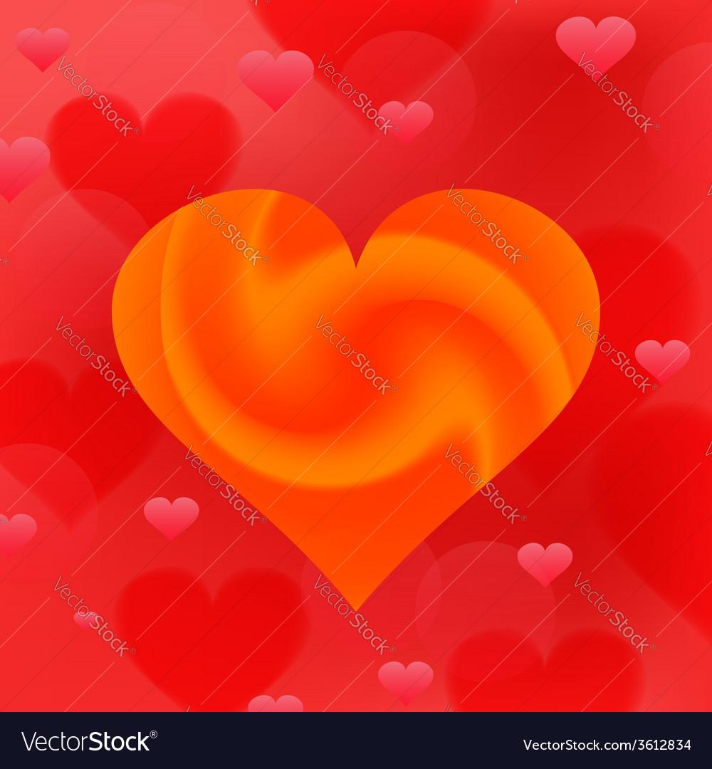 Wave heart vector | Price: 1 Credit (USD $1)