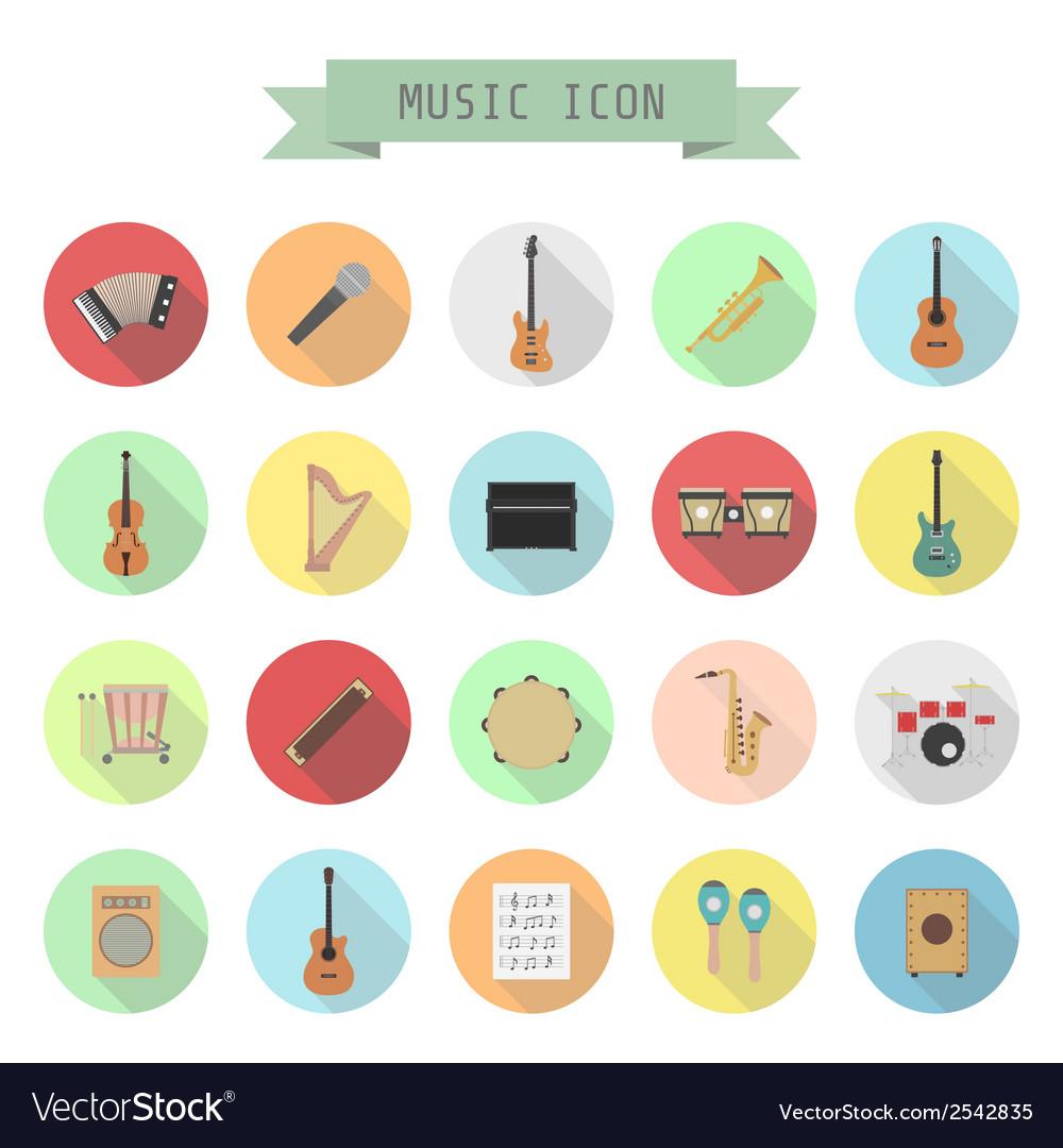 Allmusicicon vector | Price: 1 Credit (USD $1)