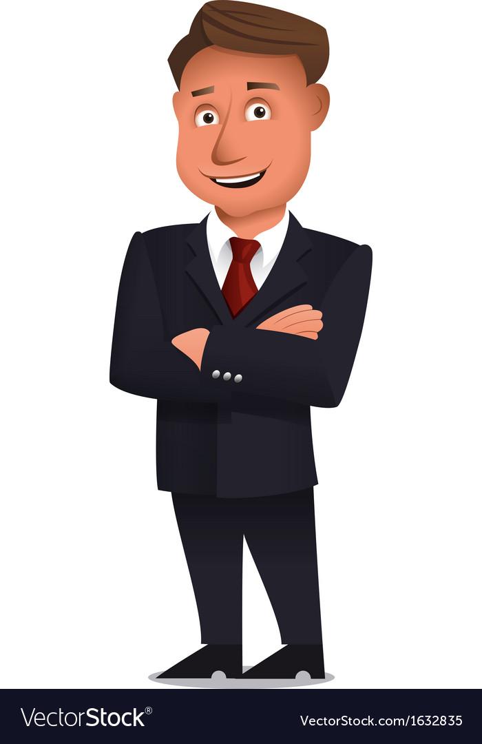 Confident businessman vector | Price: 1 Credit (USD $1)