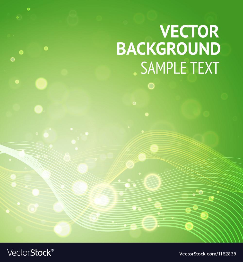 Elegant green background vector | Price: 1 Credit (USD $1)