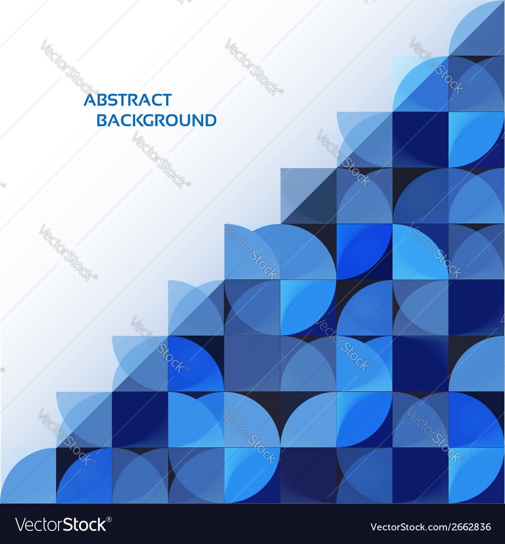 Blue geometrical abstract background eps 10 vector | Price: 1 Credit (USD $1)