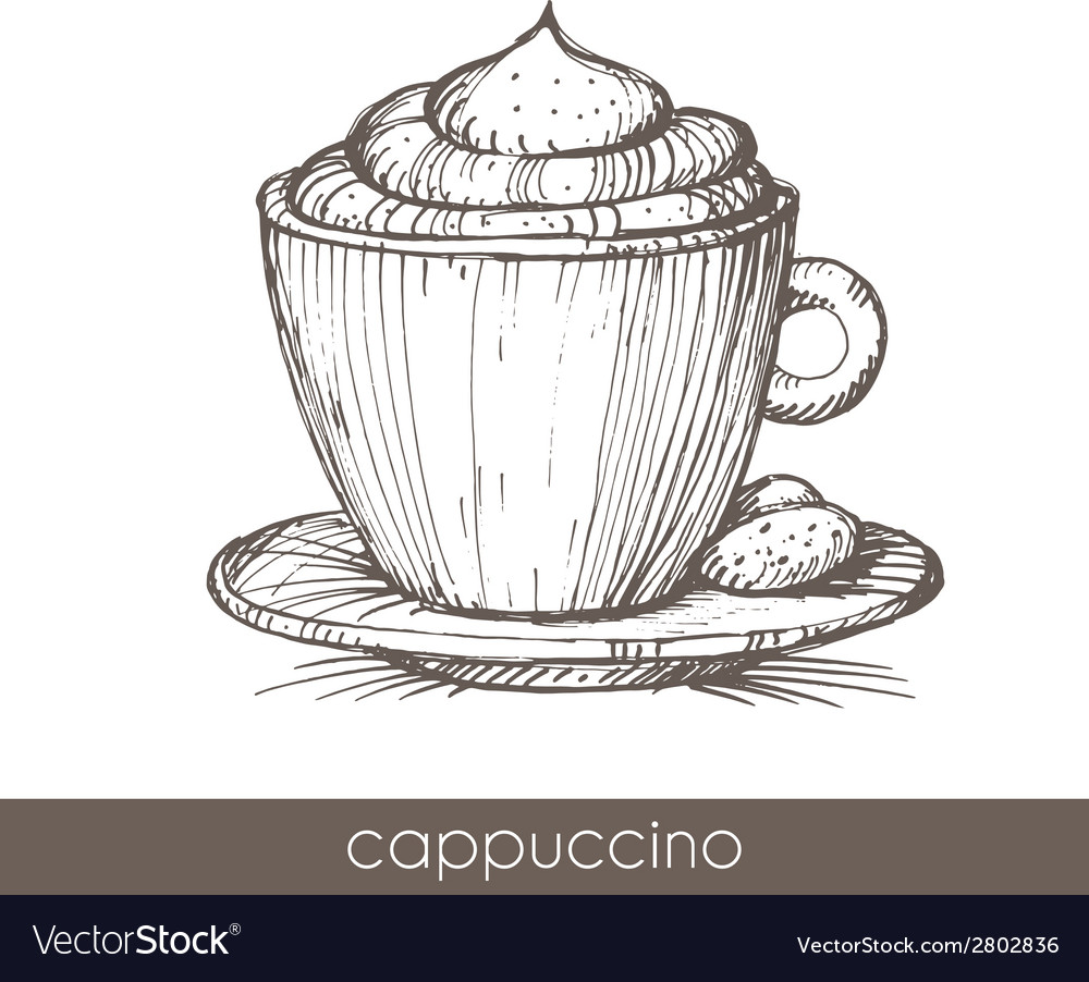 Cappuccino vector | Price: 1 Credit (USD $1)