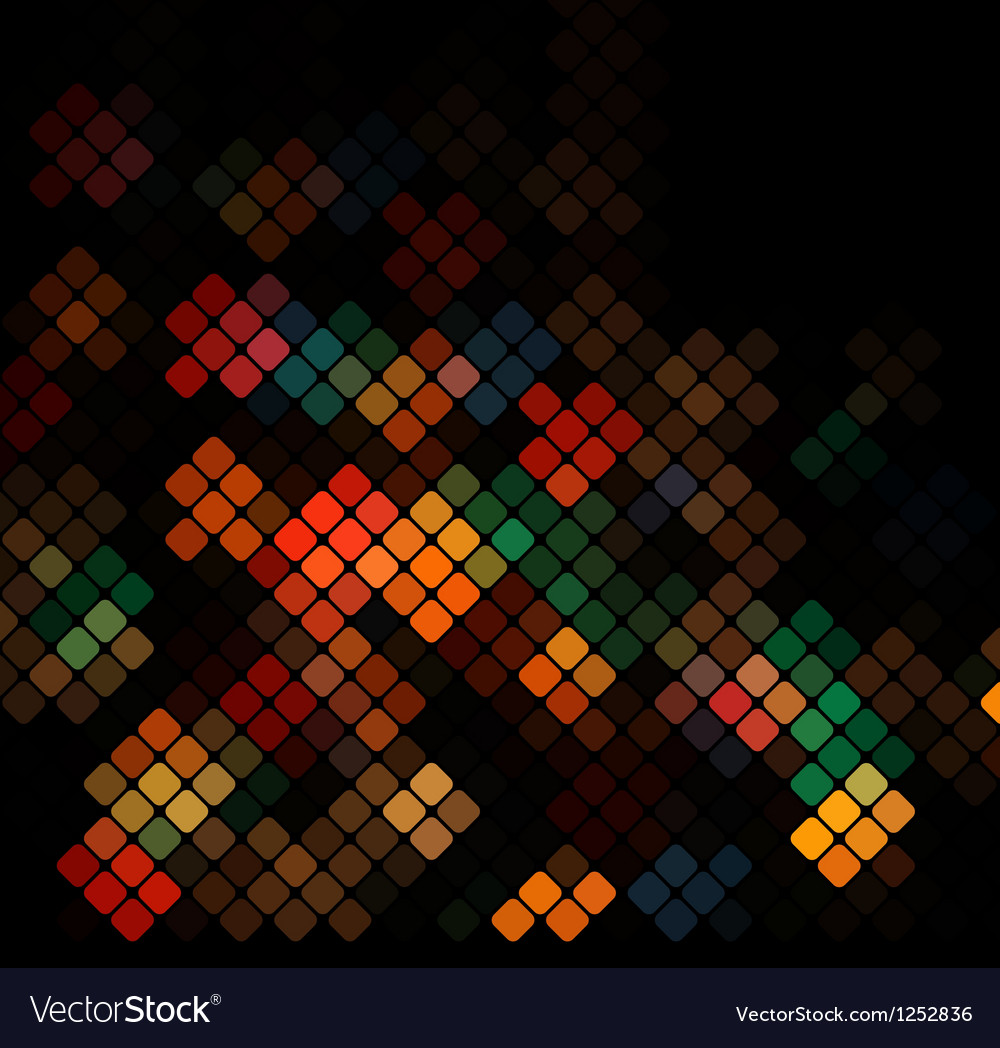 Dark colorful background vector | Price: 1 Credit (USD $1)