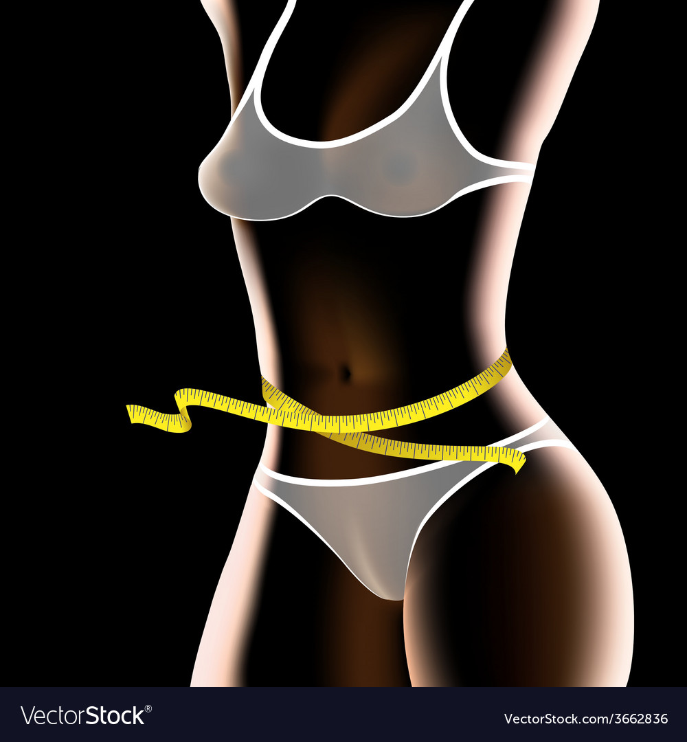 Fitness woman body vector | Price: 1 Credit (USD $1)