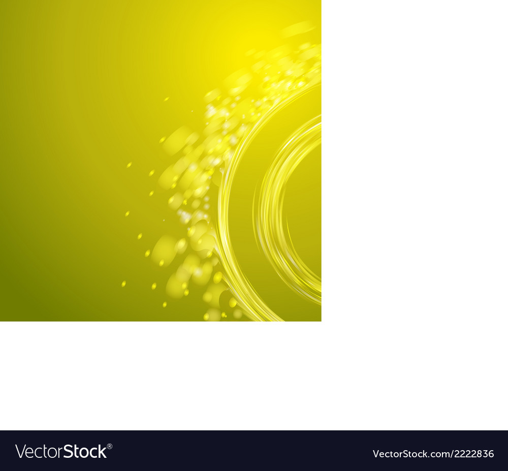 Yellow spiral vector | Price: 1 Credit (USD $1)