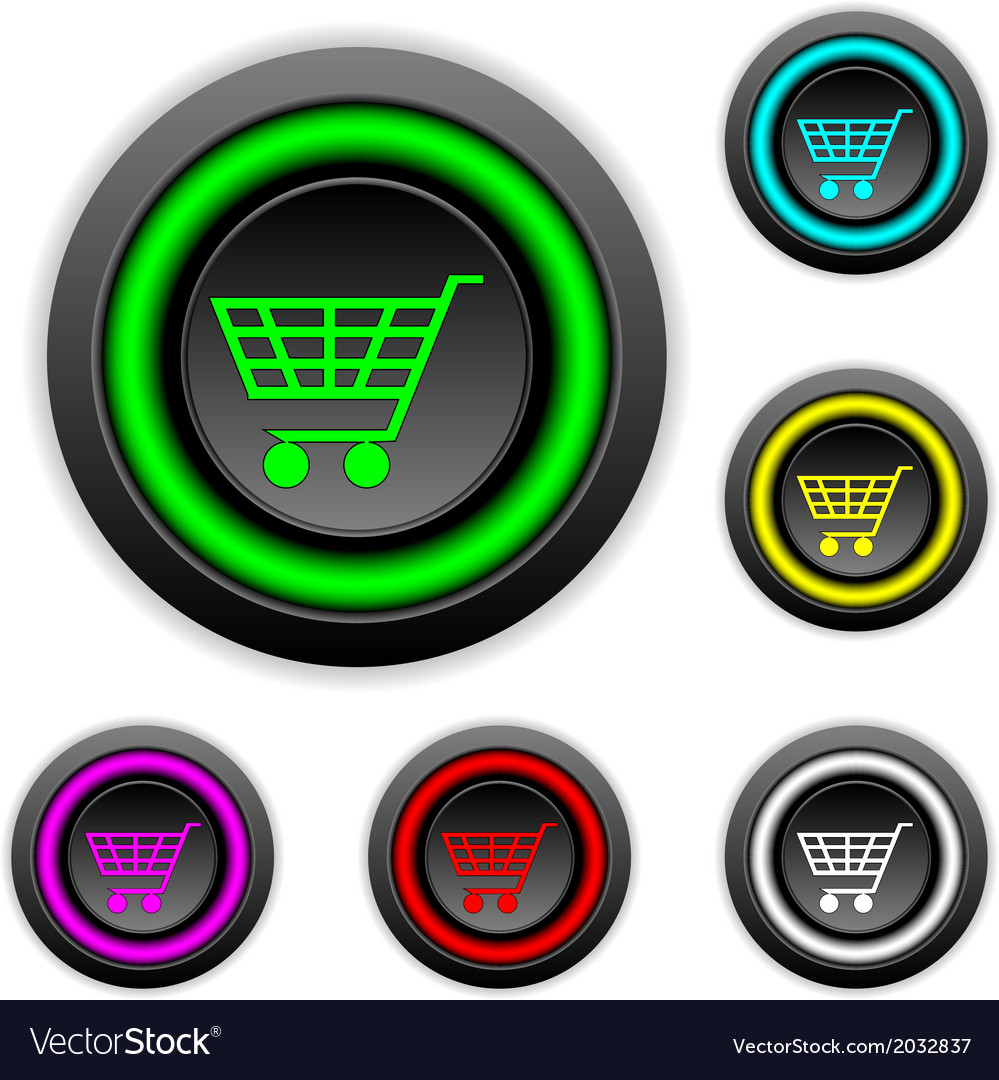Buy buttons set vector | Price: 1 Credit (USD $1)