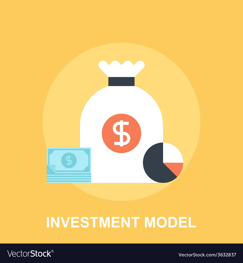 Investment model vector | Price: 1 Credit (USD $1)