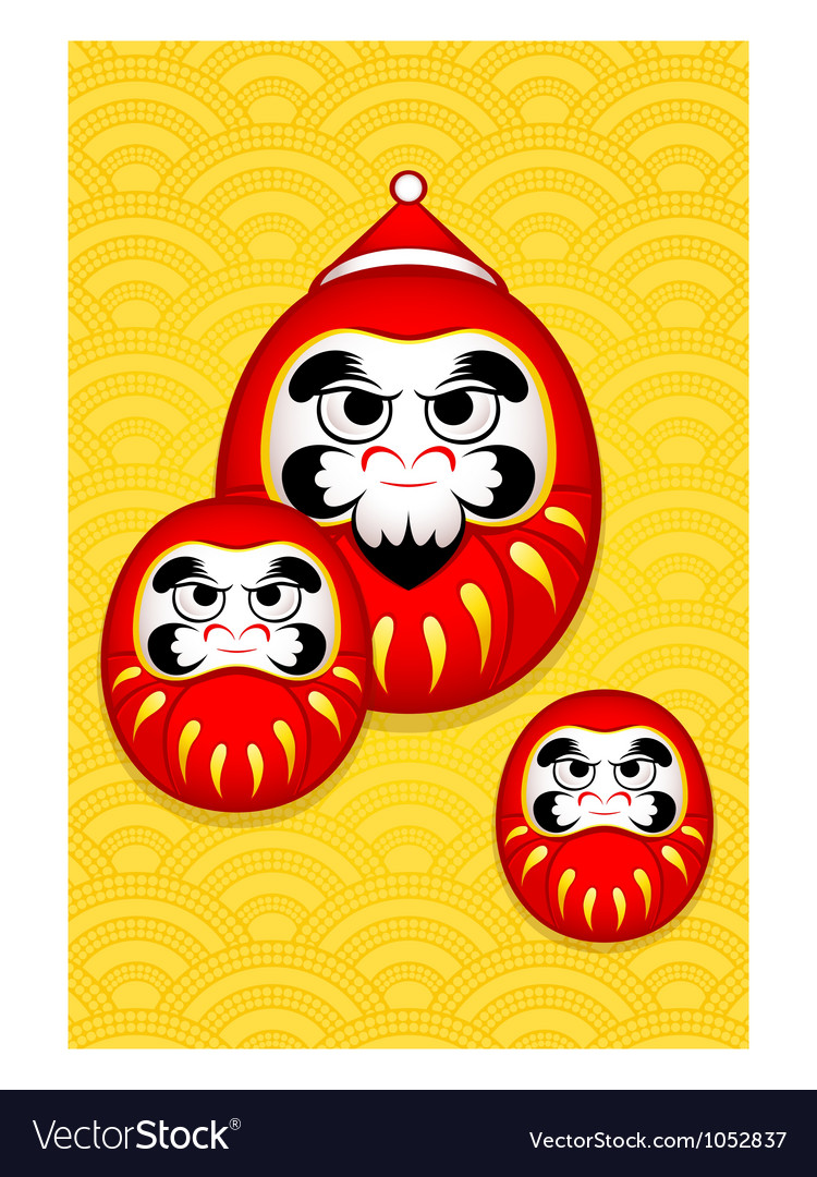 Nengajo new year card vector | Price: 1 Credit (USD $1)