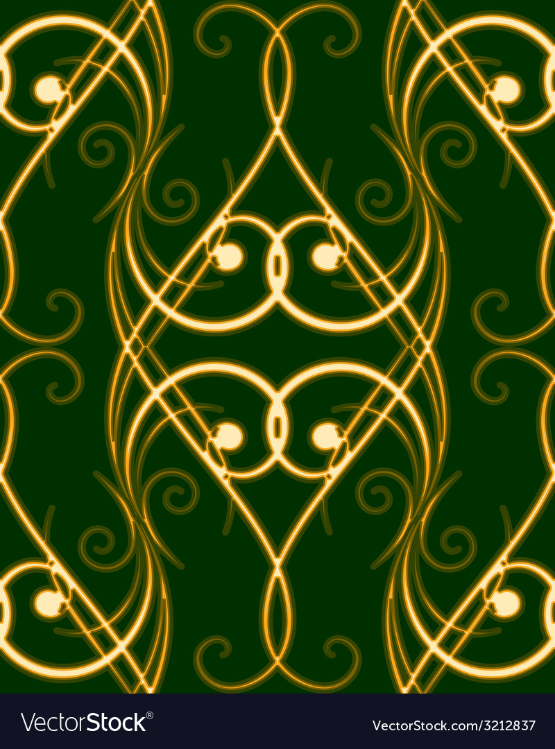 Seamless swirles pattern vector | Price: 1 Credit (USD $1)