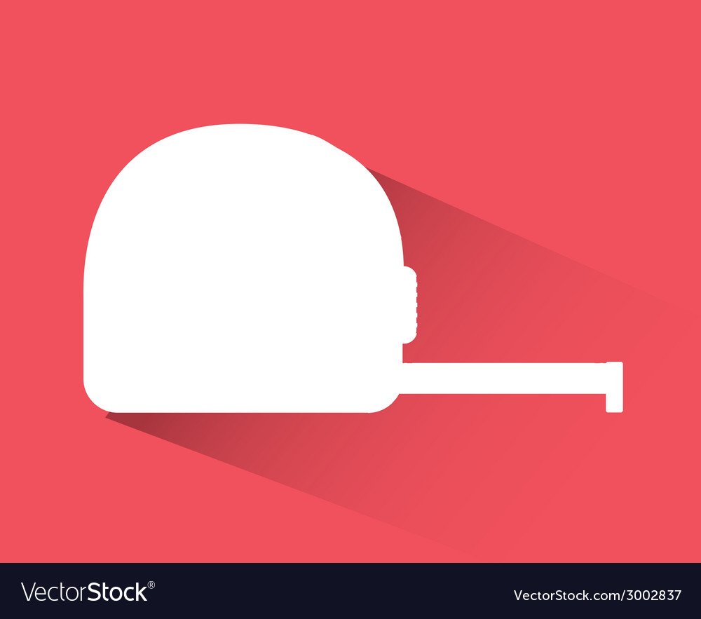 Tape measure design vector | Price: 1 Credit (USD $1)