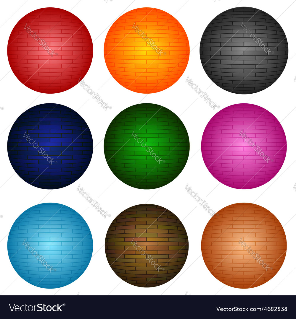 Colorful spheres vector | Price: 1 Credit (USD $1)