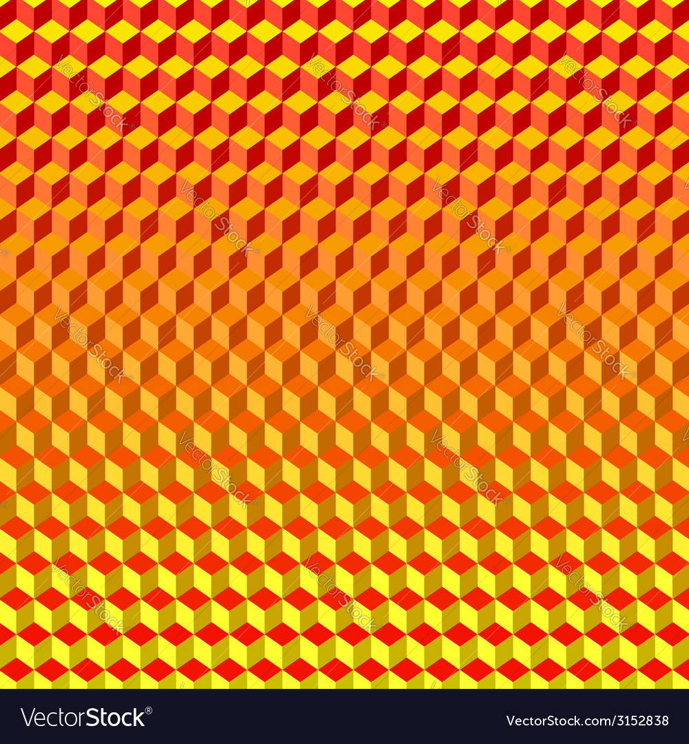 Psychodelic background from cubes vector | Price: 1 Credit (USD $1)