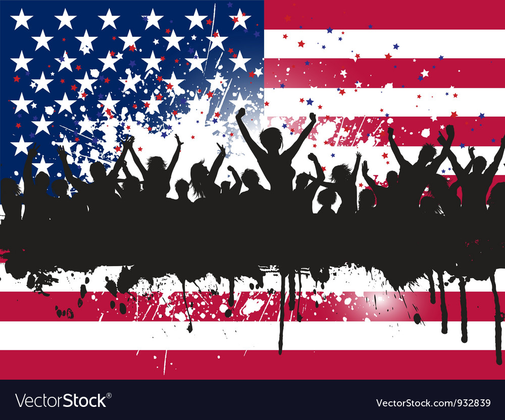 Independence day party 3005 vector | Price: 1 Credit (USD $1)