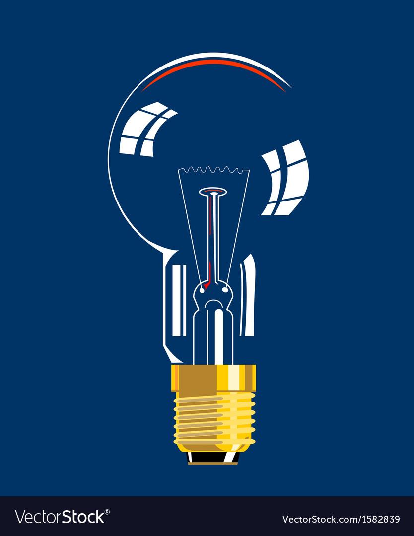 Lightbulb vector | Price: 1 Credit (USD $1)