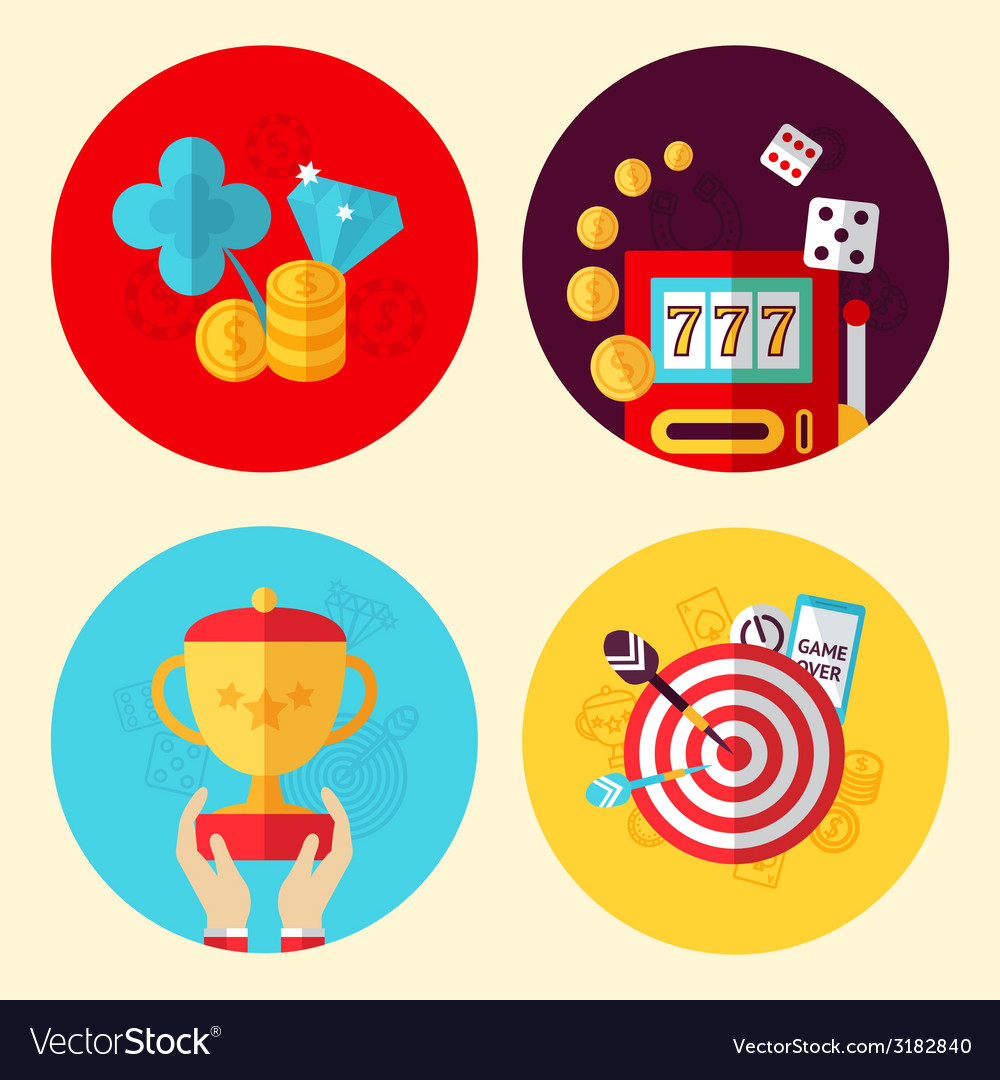 Game design set vector | Price: 1 Credit (USD $1)