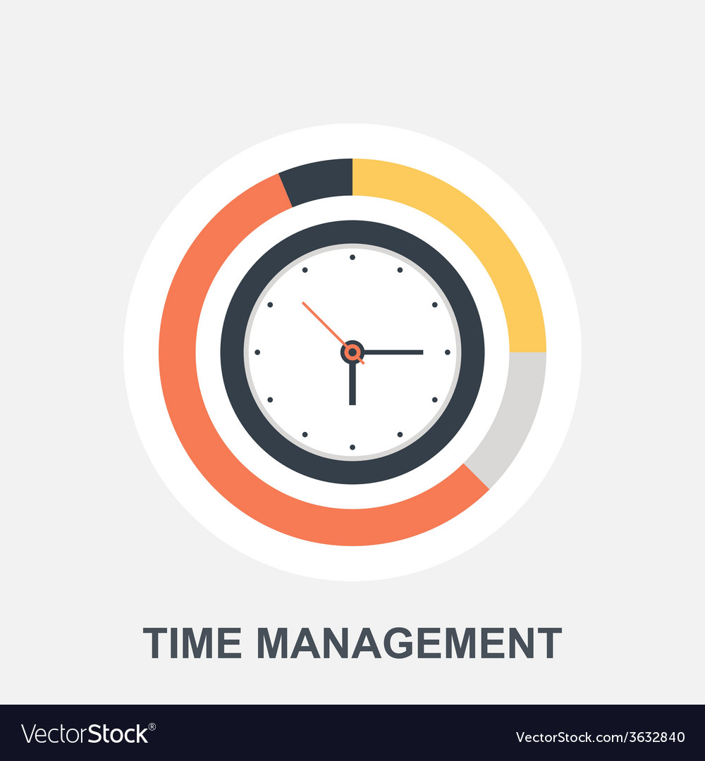 Time management vector | Price: 1 Credit (USD $1)