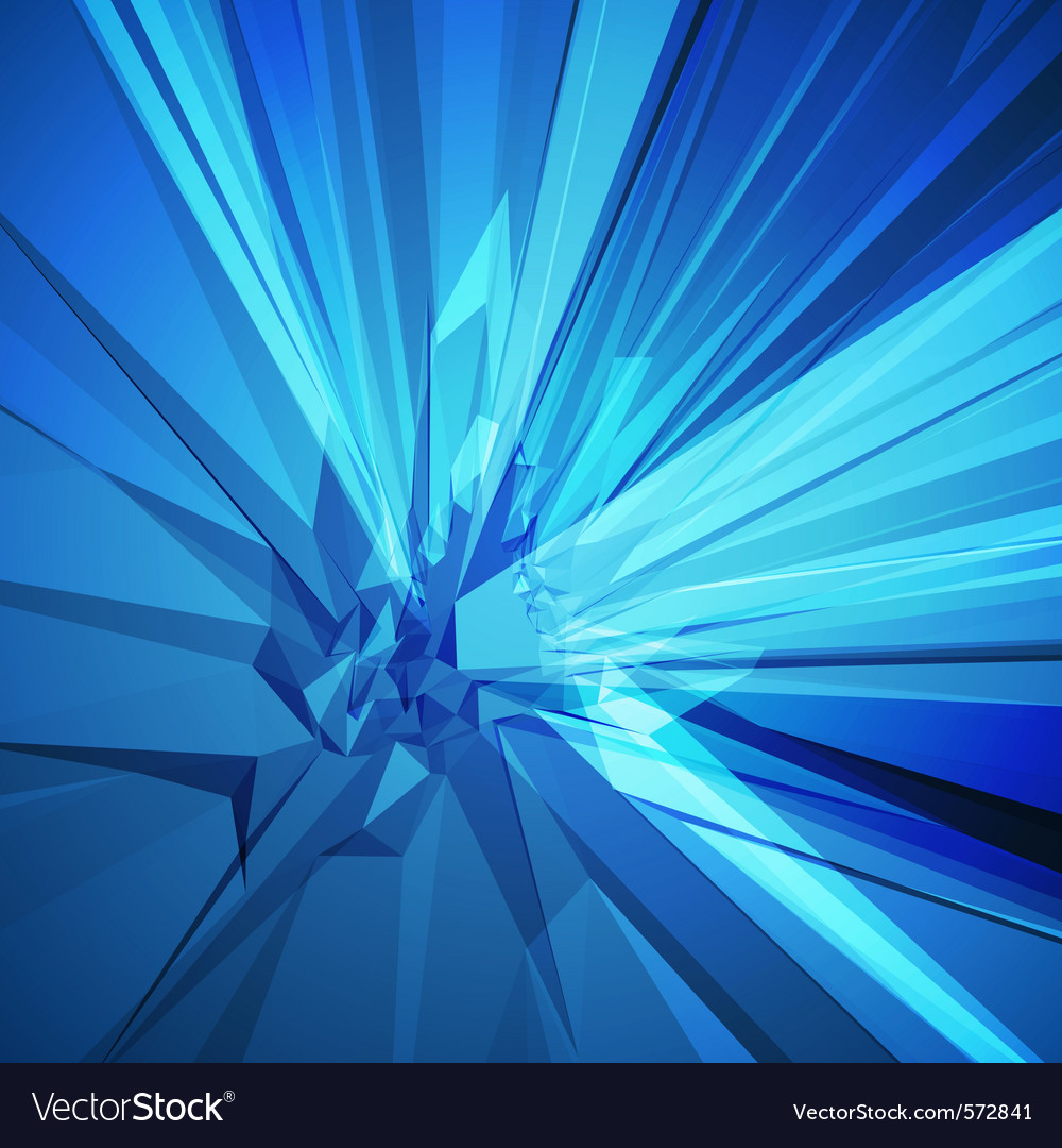 Abstract shattered background vector | Price: 1 Credit (USD $1)