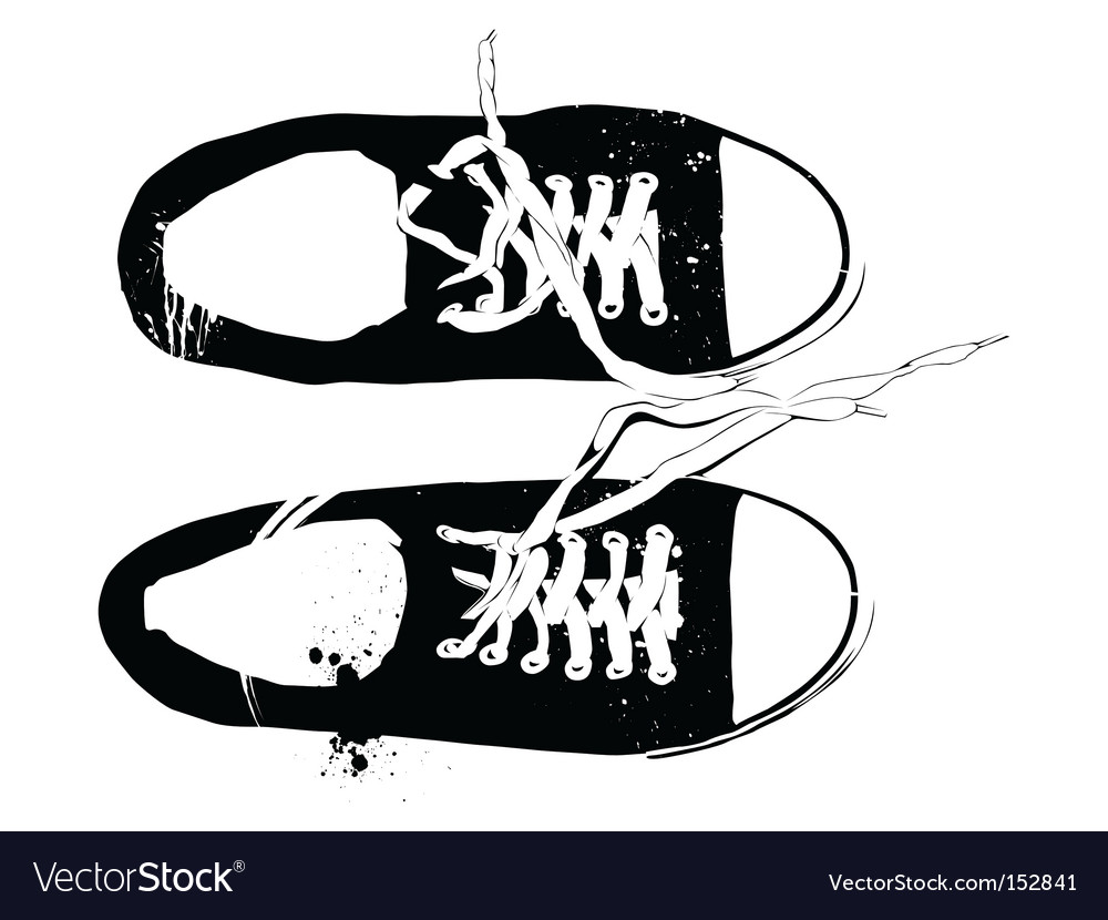 Athletic shoes vector | Price: 3 Credit (USD $3)