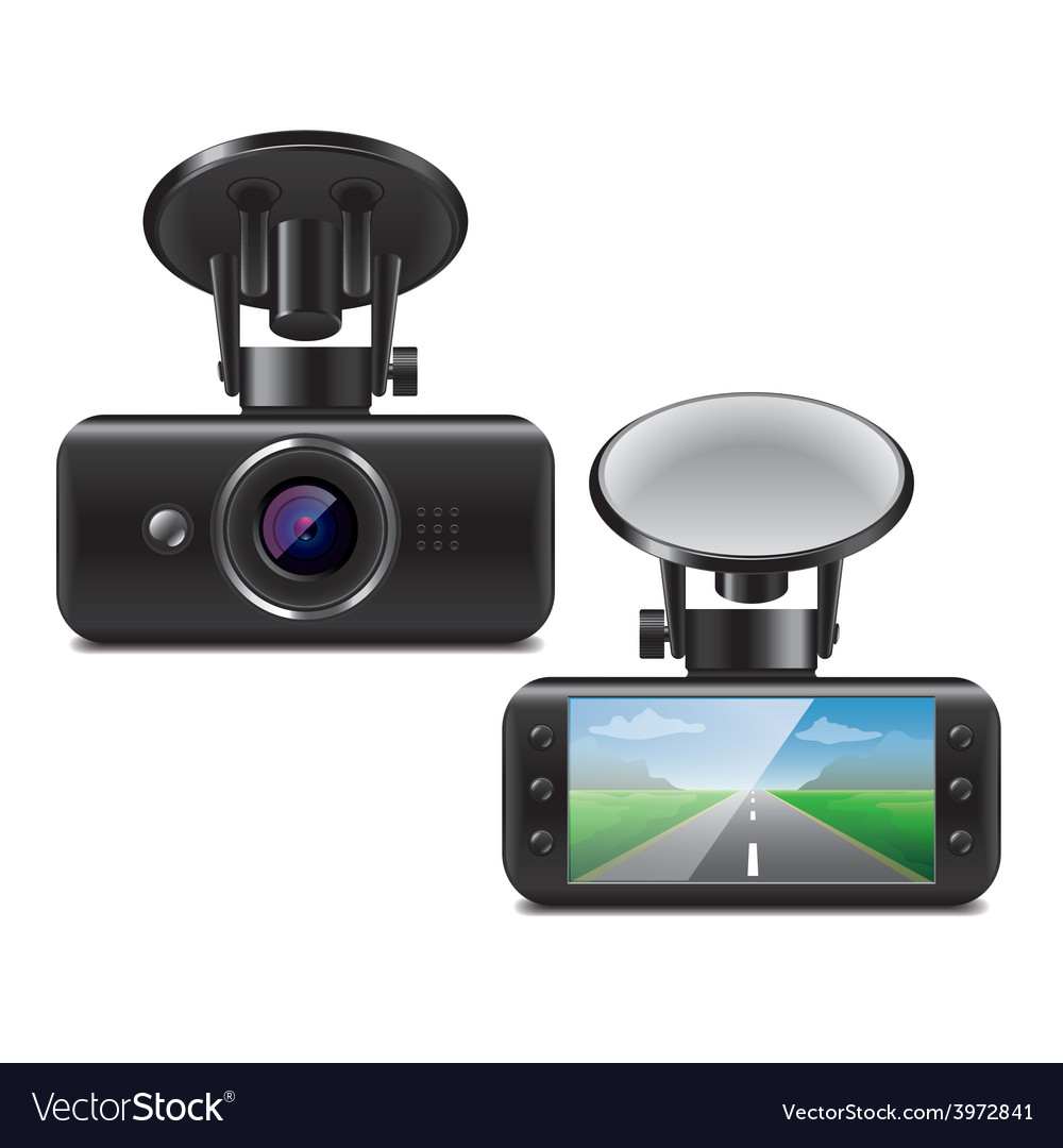 Car dvr isolated vector | Price: 3 Credit (USD $3)