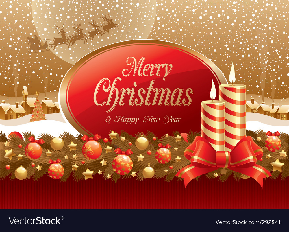 Christmas illustration vector | Price: 3 Credit (USD $3)