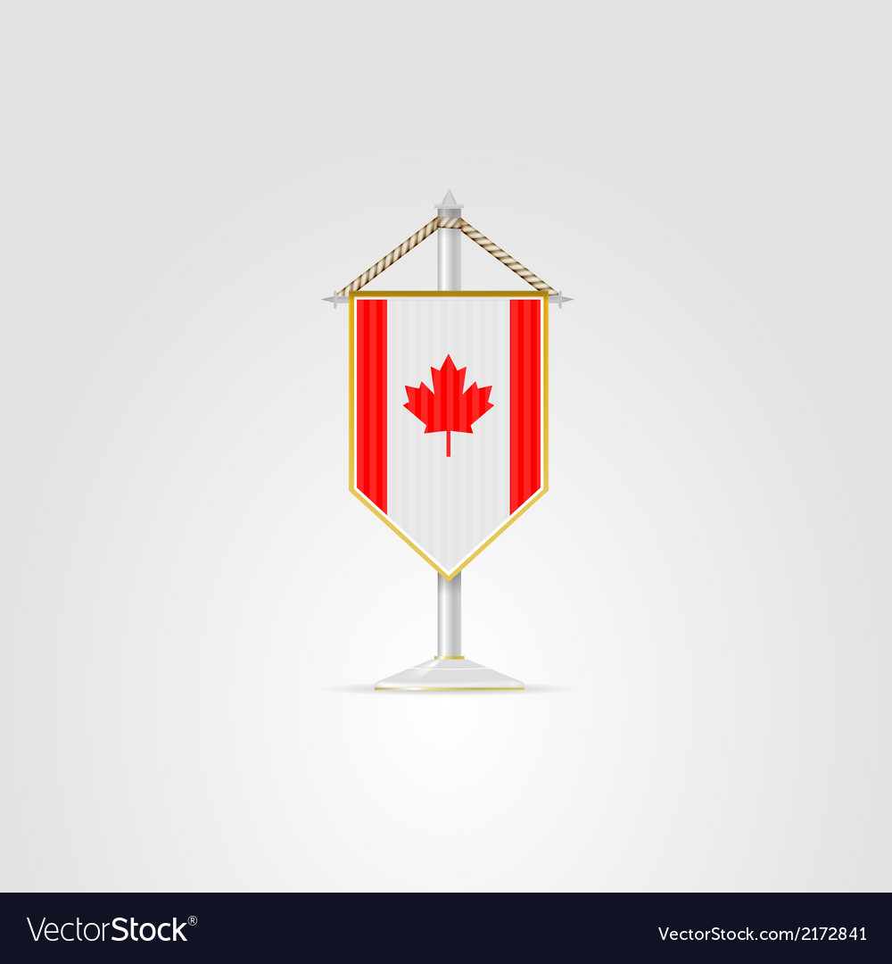 National symbols of north america countries canada vector | Price: 1 Credit (USD $1)