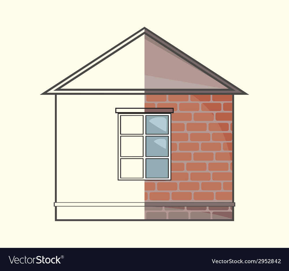 Cottage project vector | Price: 1 Credit (USD $1)