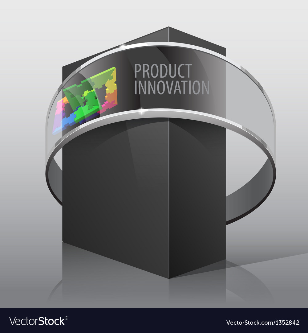 Package box for presentation vector | Price: 1 Credit (USD $1)