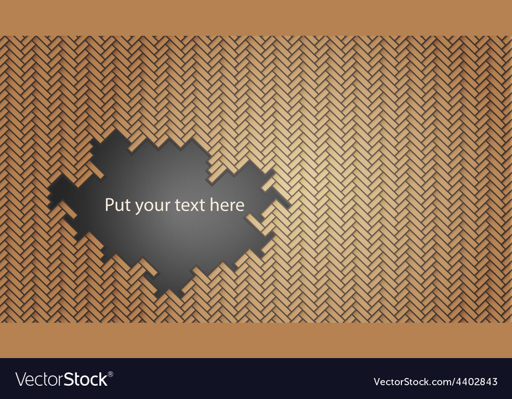 Geometric wicker pattern with hole vector | Price: 1 Credit (USD $1)