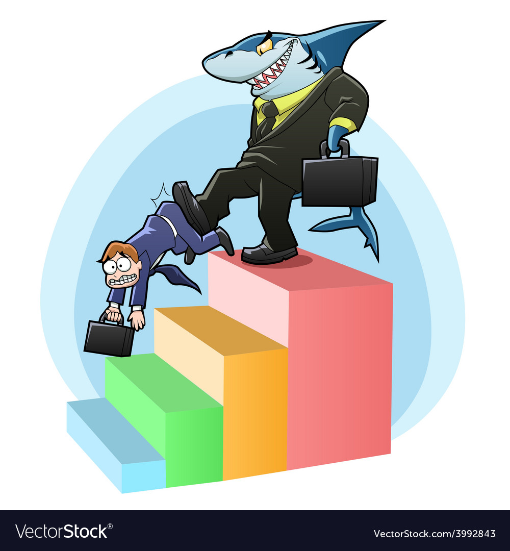 Monopoly shark vector | Price: 3 Credit (USD $3)