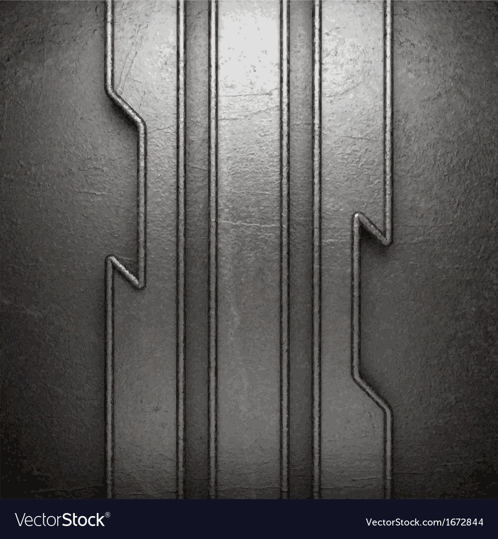 Metal on wall background vector   Price: 1 Credit (USD $1)