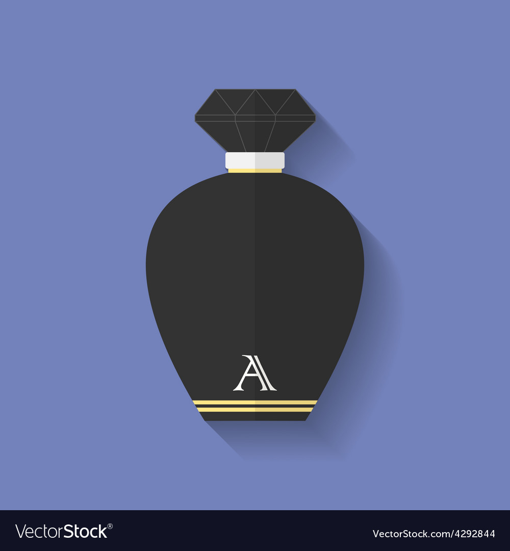 Perfume icon flat style vector | Price: 1 Credit (USD $1)