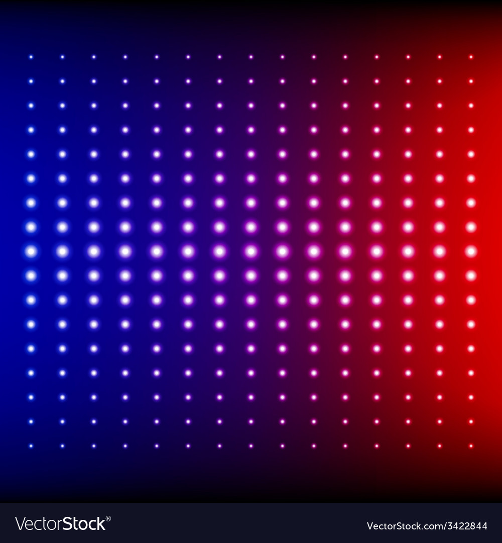 Red blue and purple shining disco equalizer lights vector | Price: 1 Credit (USD $1)