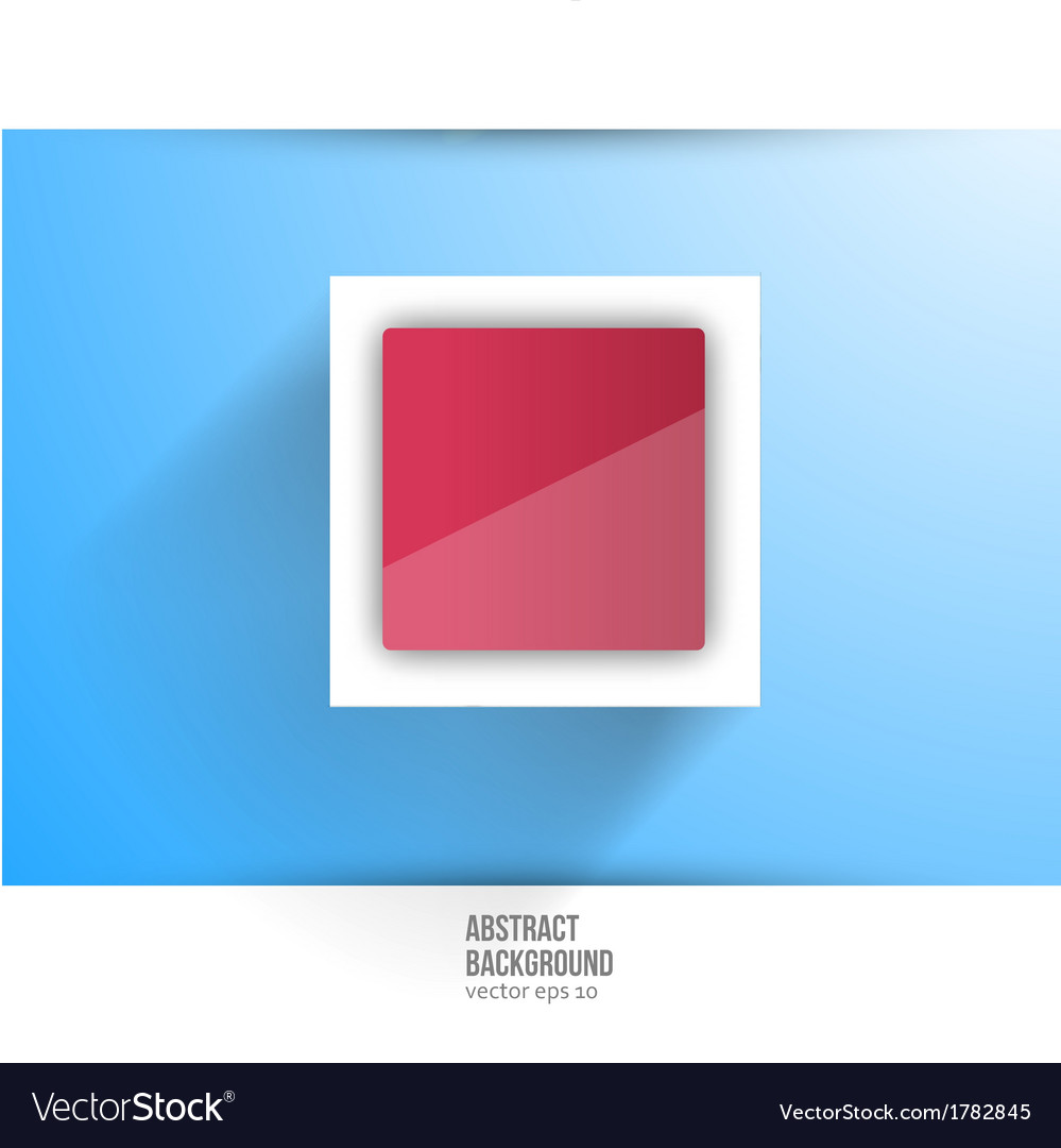 Abstract background square red vector | Price: 1 Credit (USD $1)