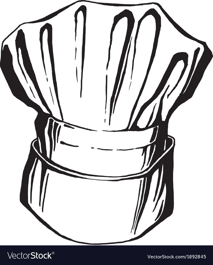 Hat of chef togue vector   Price: 1 Credit (USD $1)