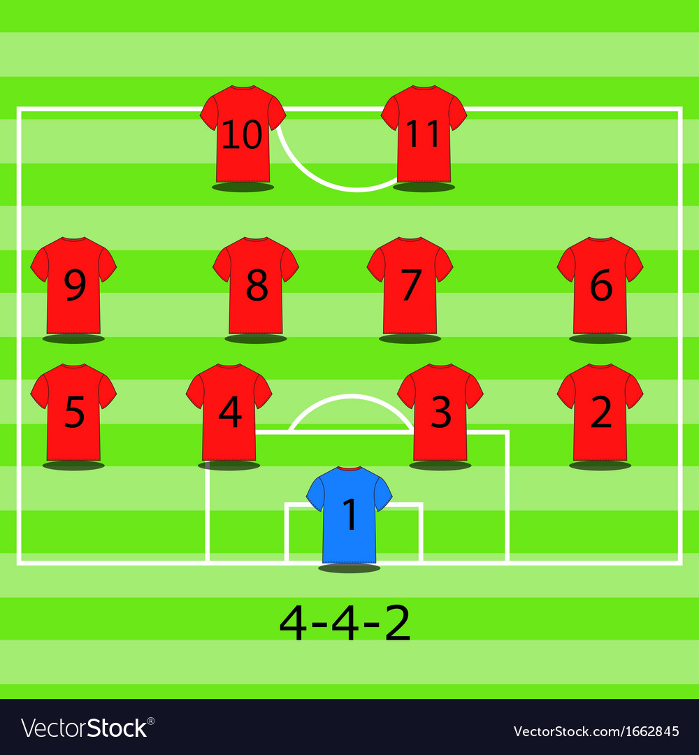 Soccer field vector   Price: 1 Credit (USD $1)