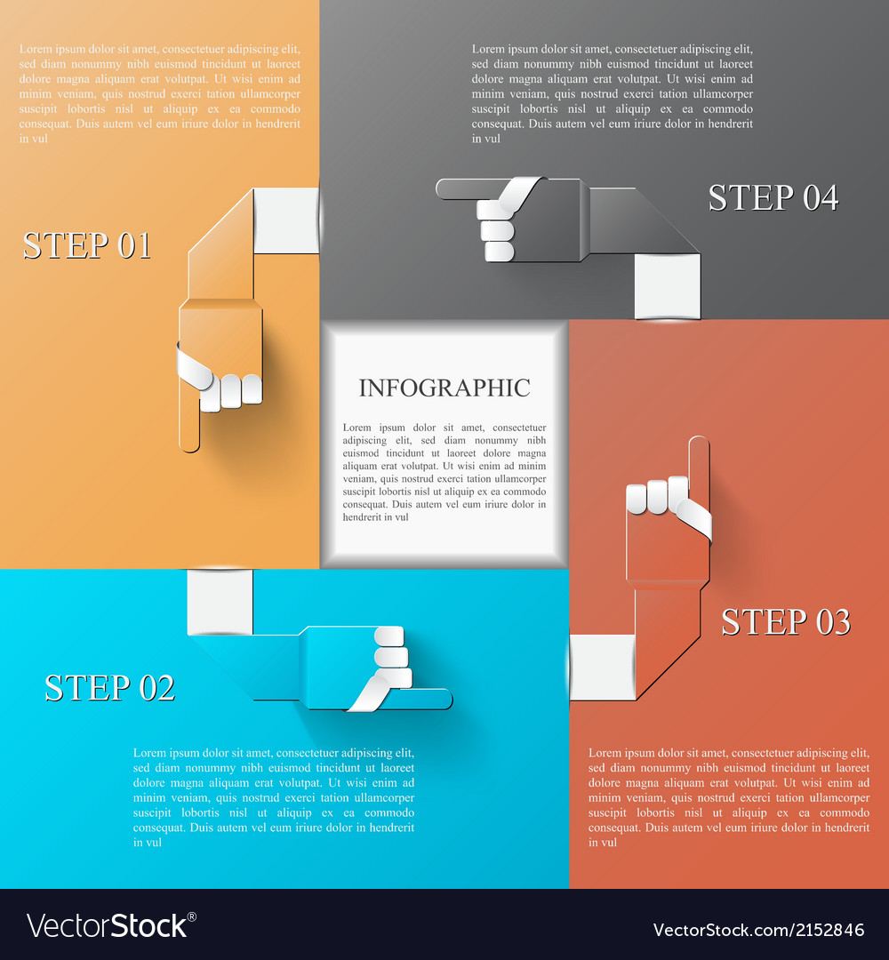 Infographic design template eps 10 vector | Price: 1 Credit (USD $1)