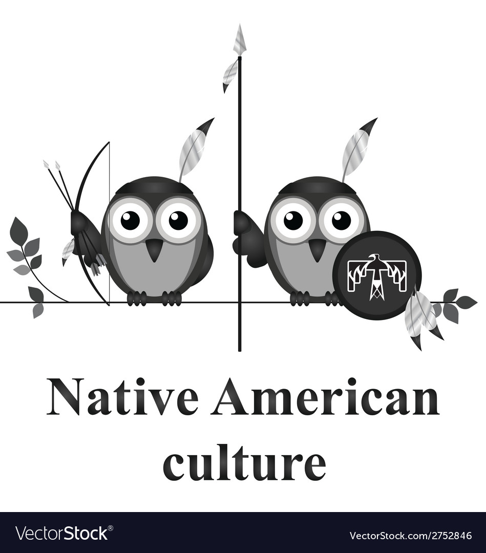 Native american culture vector | Price: 1 Credit (USD $1)