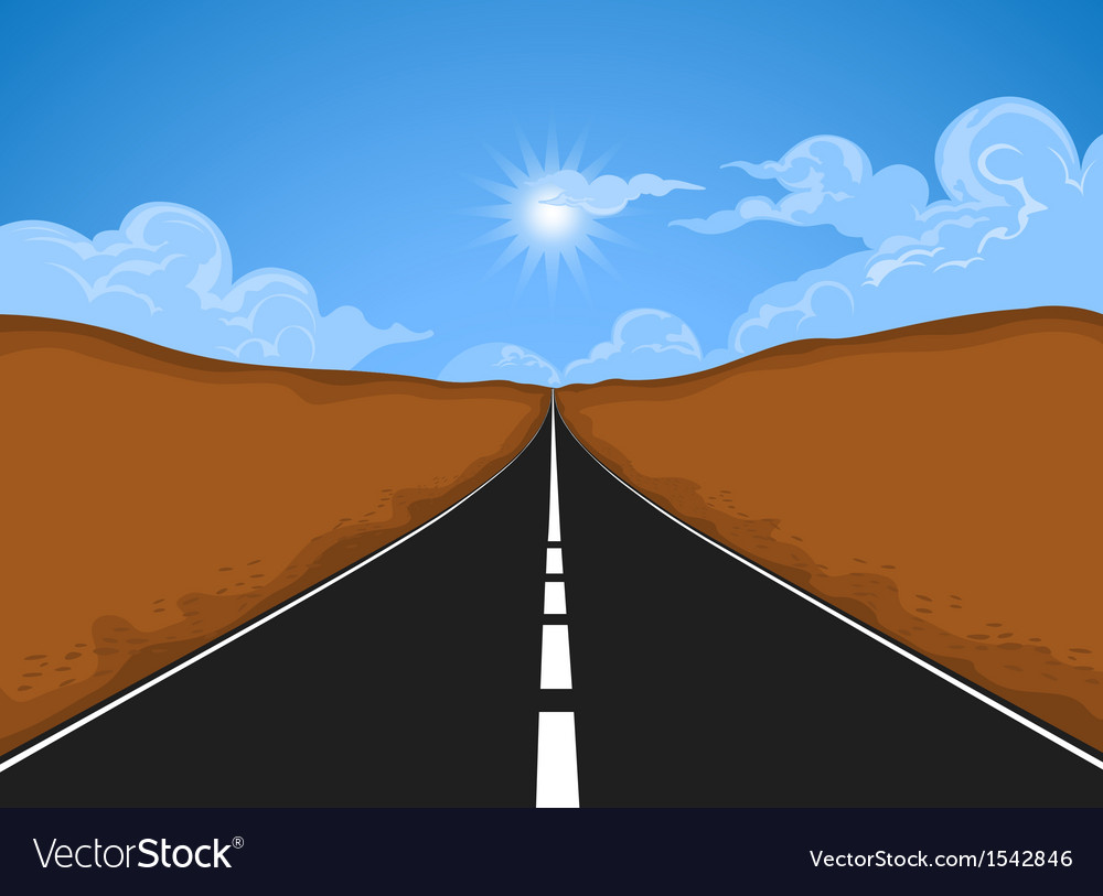 The road vector | Price: 1 Credit (USD $1)