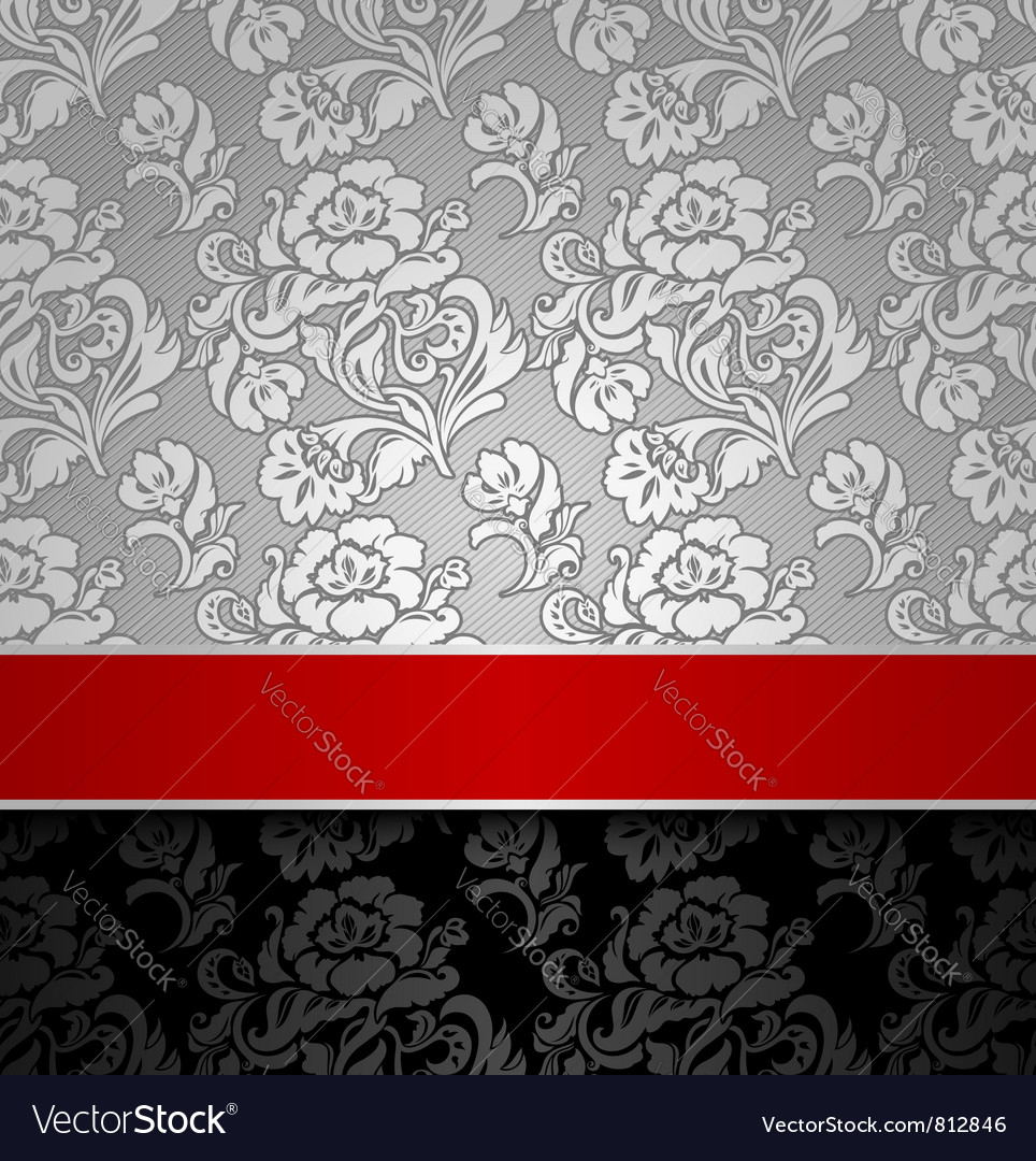 Seamless decorative background vector | Price: 1 Credit (USD $1)