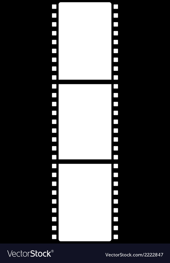 Film strip icon vector | Price: 1 Credit (USD $1)