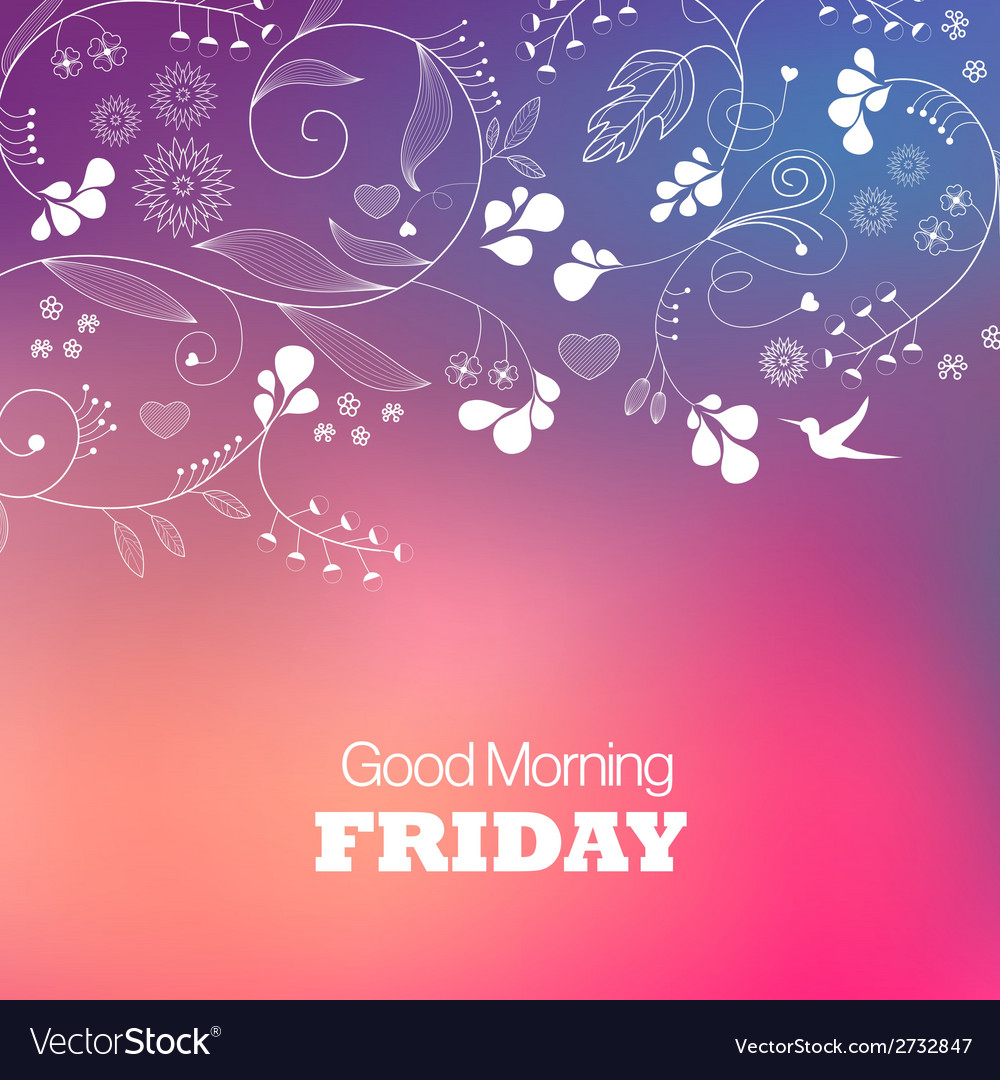 Friday vector | Price: 1 Credit (USD $1)