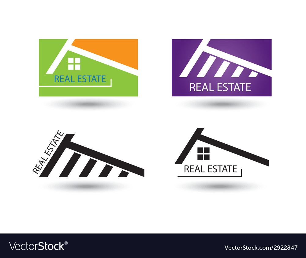 Set of icons for real estate business vector | Price: 1 Credit (USD $1)