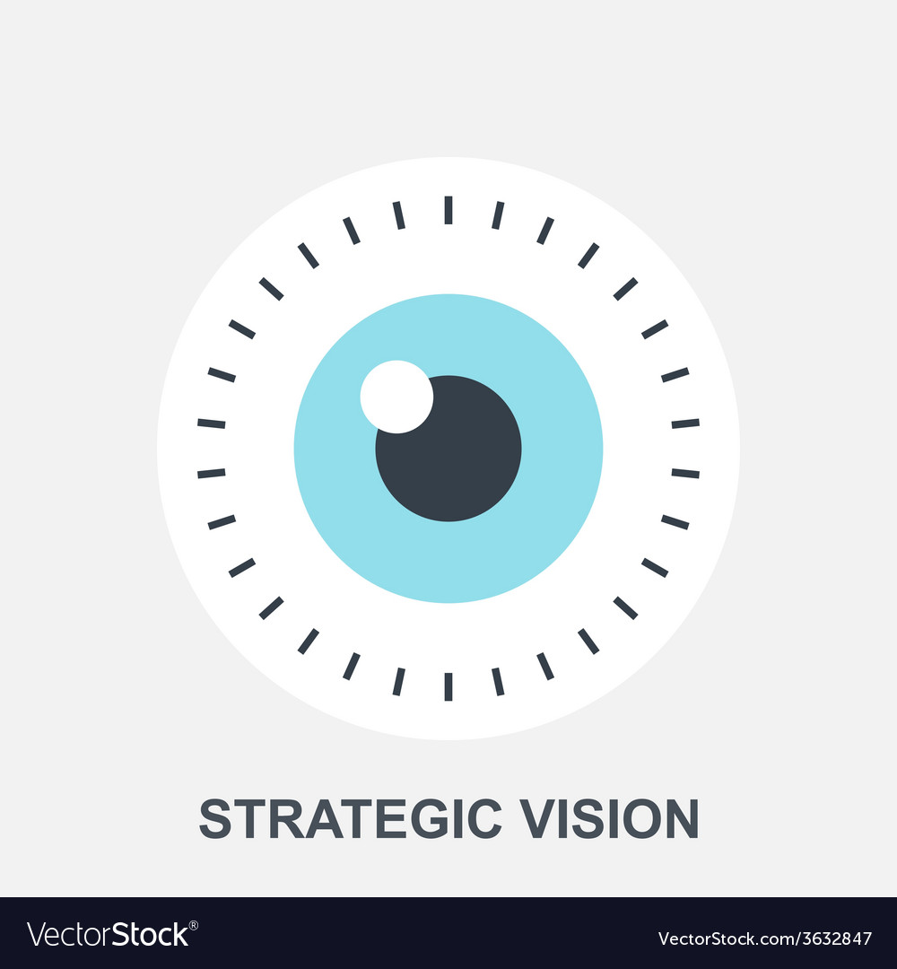 Strategic vision vector | Price: 1 Credit (USD $1)