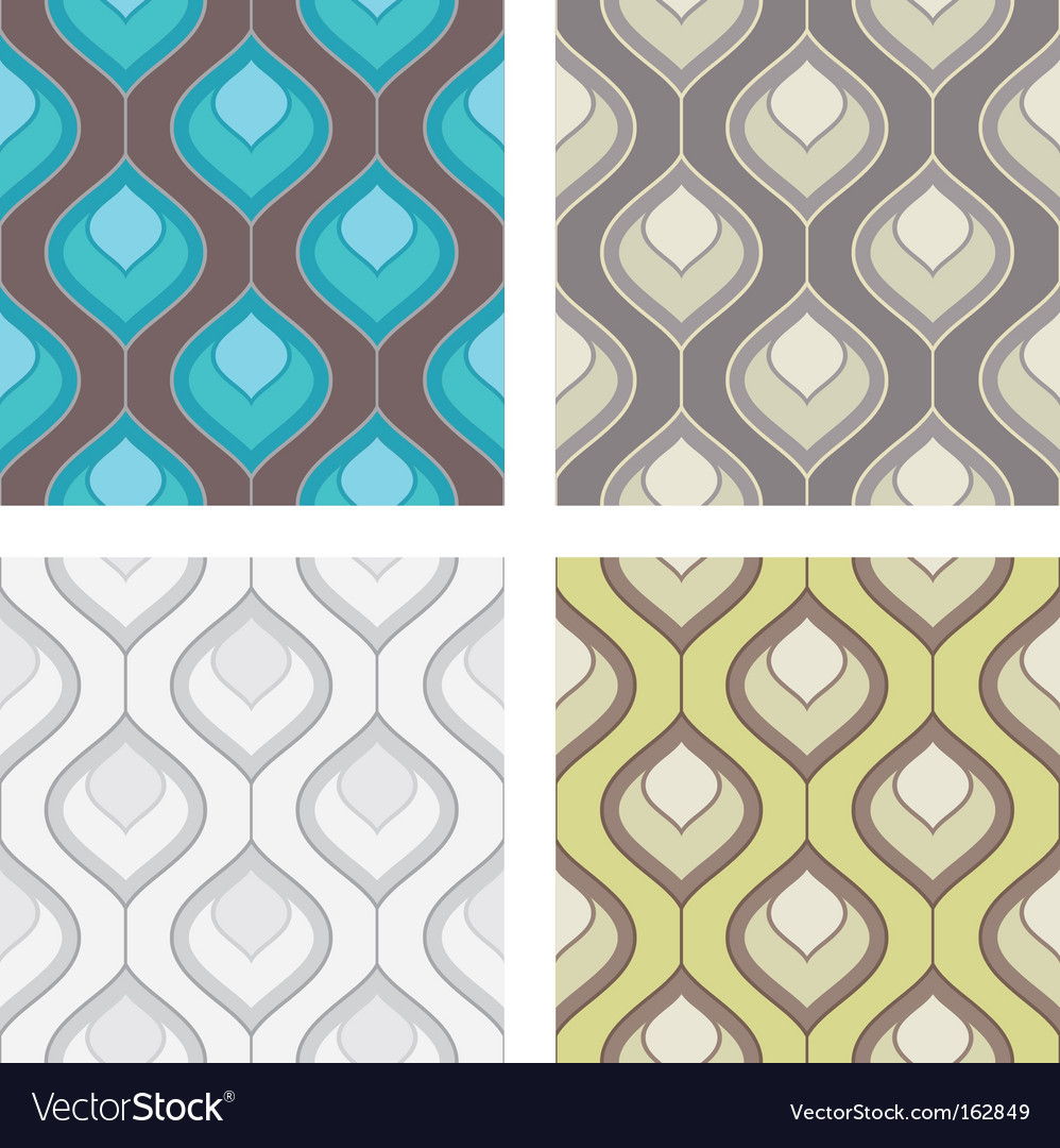 Deortive pattern set vector | Price: 1 Credit (USD $1)