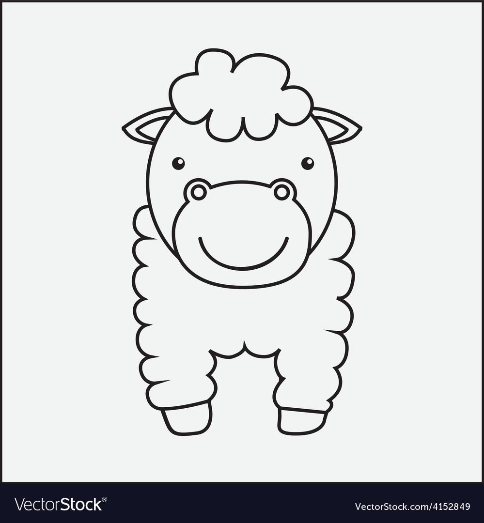 Farm animal vector | Price: 1 Credit (USD $1)