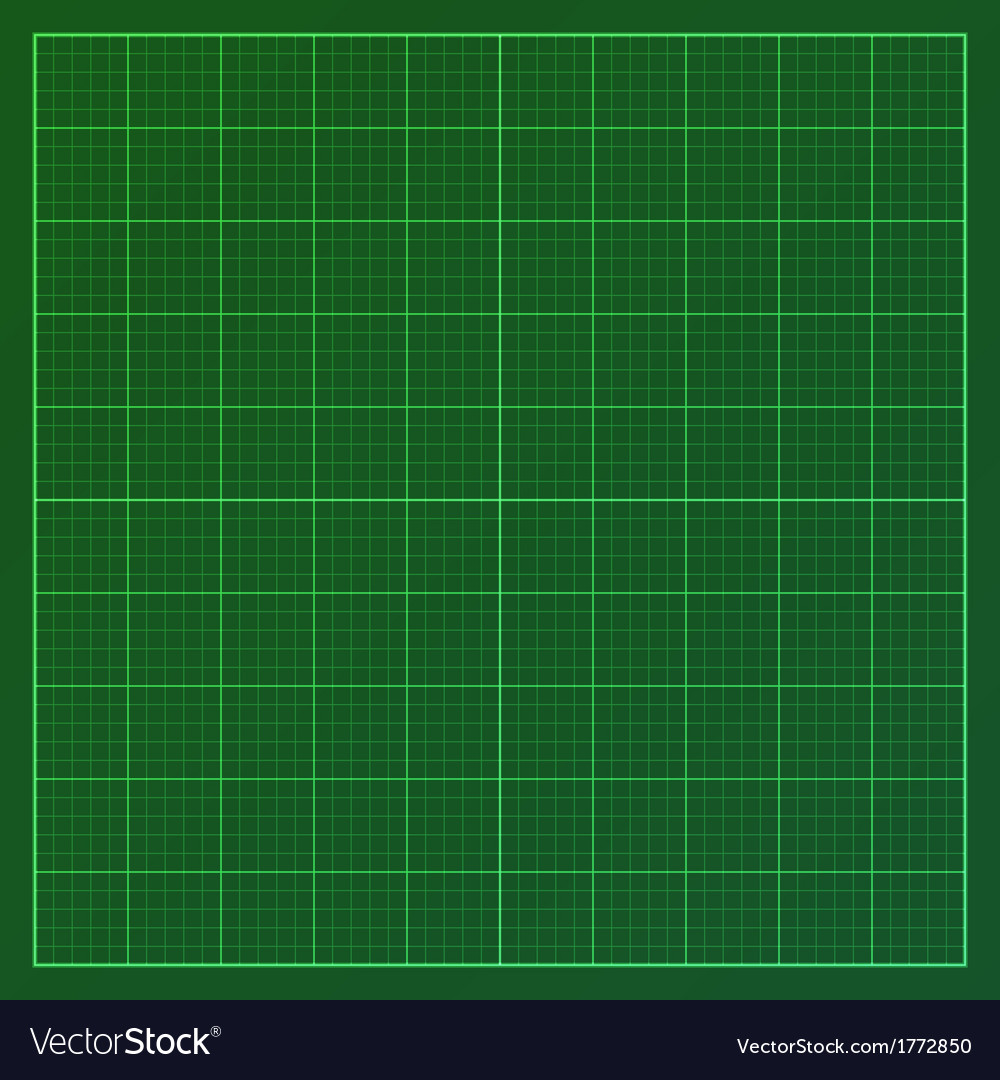 Green graph paper vector | Price: 1 Credit (USD $1)