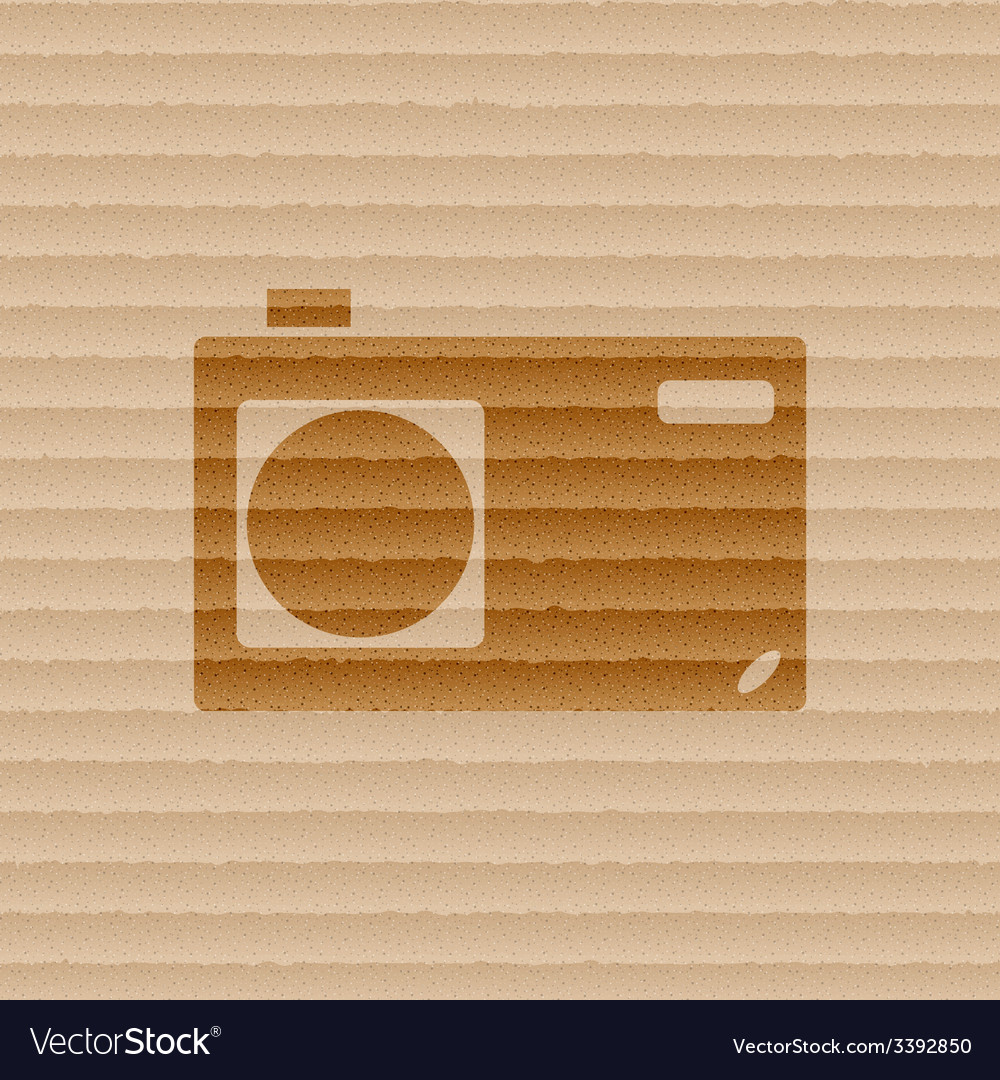 Photo camera icon symbol flat modern web design vector   Price: 1 Credit (USD $1)