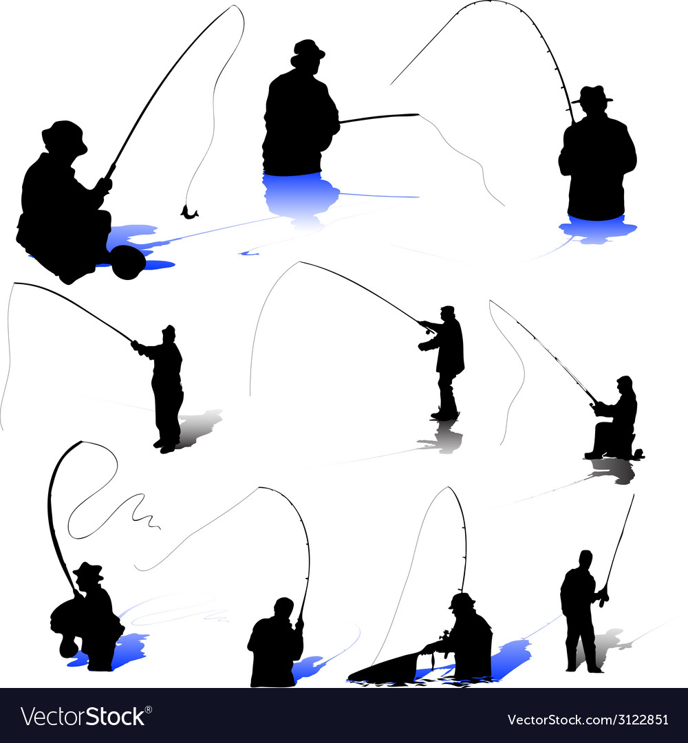 Fishermen-s vector | Price: 1 Credit (USD $1)