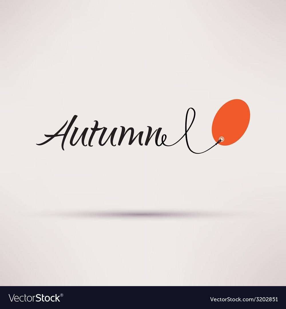 Icon of sale seasonal autumn isolated vector | Price: 1 Credit (USD $1)