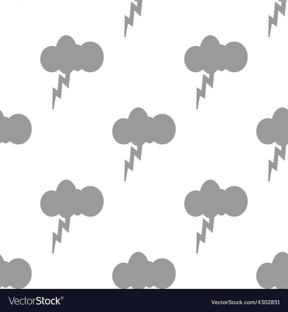 New storm seamless pattern vector | Price: 1 Credit (USD $1)